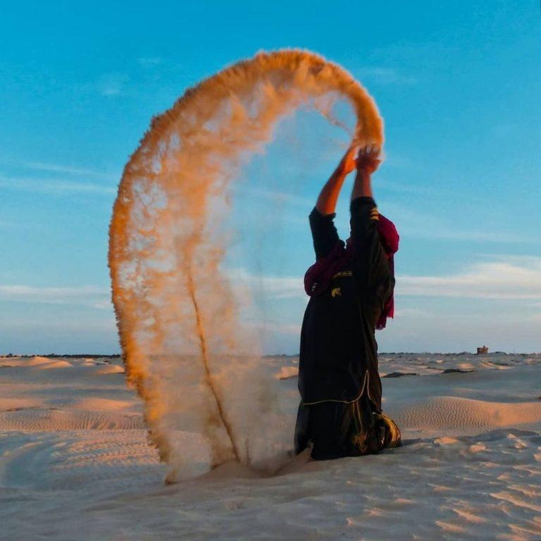 Sahara désert Douz Sud Tunisie